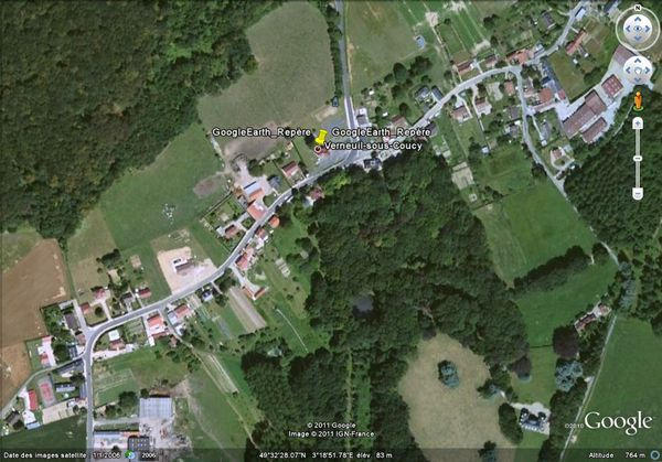 Verneuil-sous-Coucy Map France Google Satellite Maps.mht