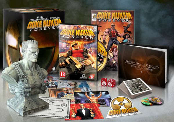 pack collector duke nukem forever