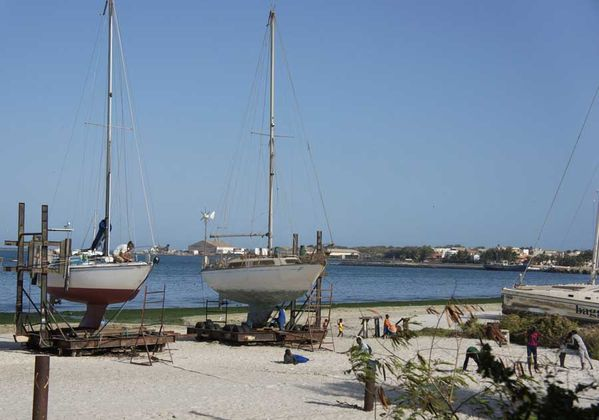 plage bateaux