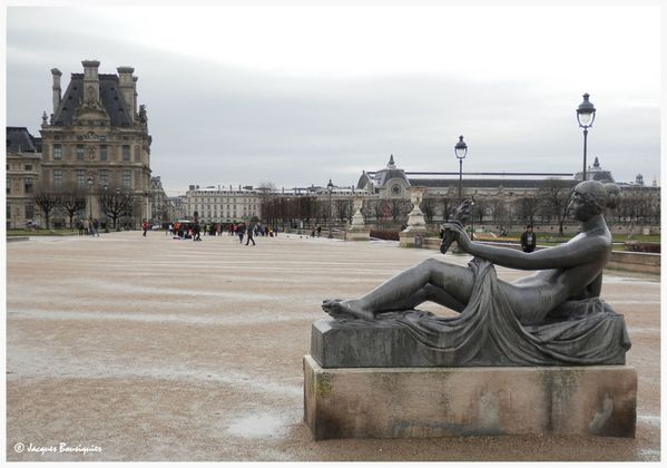 Monument a Cezanne Maillol Tuileries Paris 1