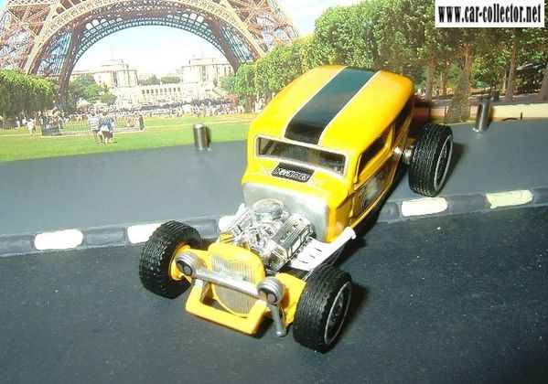32 ford rat rod equipée moon hot wheels