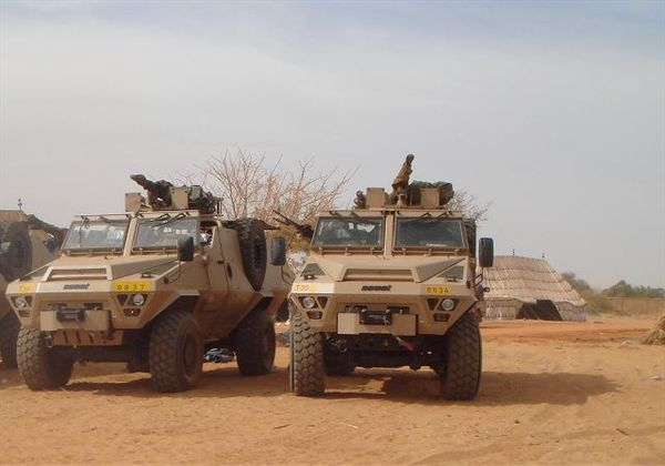 Bastion Patsas Acmat special operations 4x4 vehicle Chad Ch