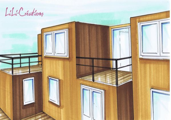 maison container 58 cargotecture