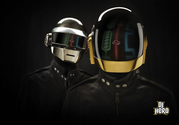 DJ Hero - Daft Punk Wallpaper