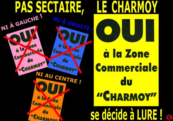 Pas sectaire, le Charmoy