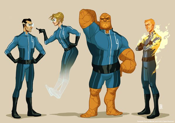 project rooftop fantastic four by shoomlah-d59ts73
