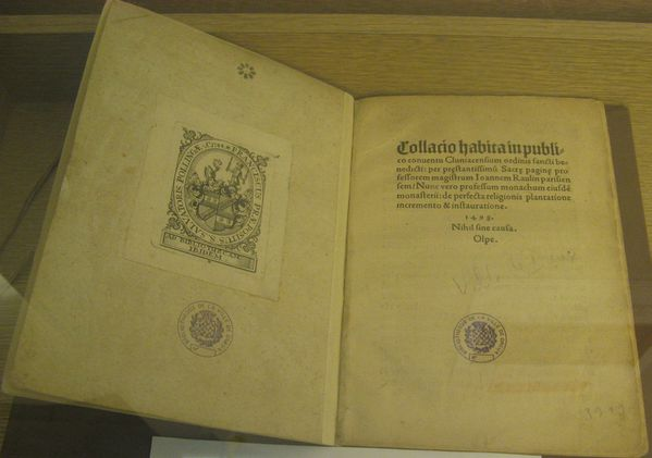 PATRIMOINE 2012 -1- odyssee livre incunable.