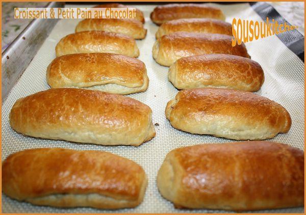 Croissant & Petit pain au chocolat en vidéo