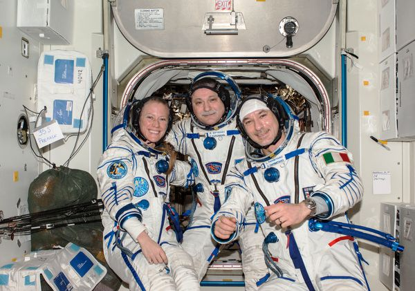ISS - Expedition 37 - Parmitano - Nyberg -Yurchikhin