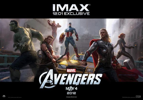 The Avengers IMAX poster