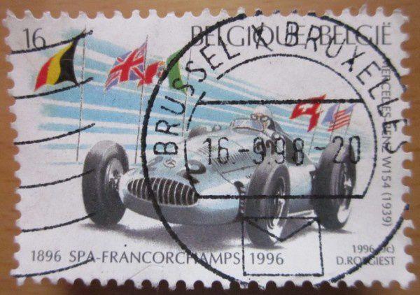 timbre mercedes w154 1939 spa francorchamps