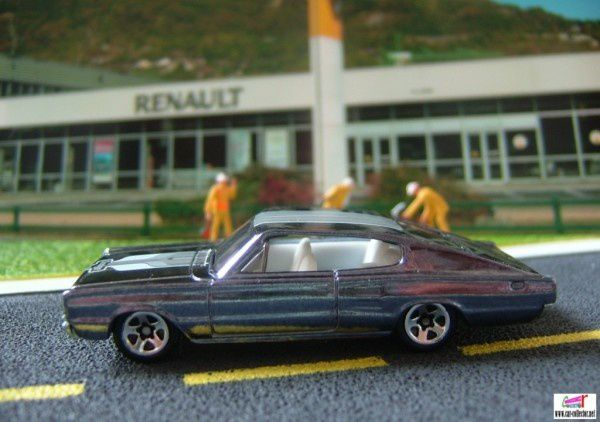 67 dodge charger serie classics n°4 2008