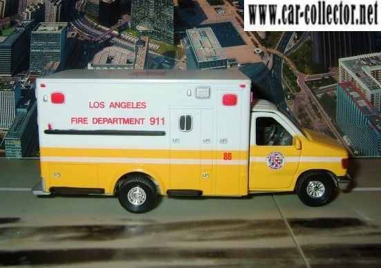 ford f350xl tins toys los angeles fire department 911 (2)