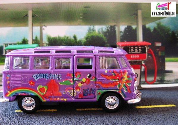 vw combi samba peace & love hippies maisto long (11)