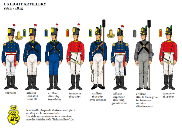 ... in detail here:Les uniforms of the light artillery on 1812 / 1814