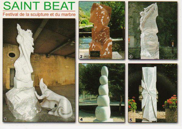 carte postale festival sculpture et marbre
