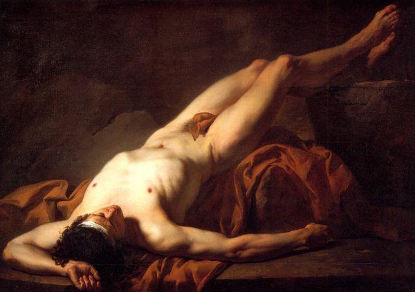 David la mort d'hector