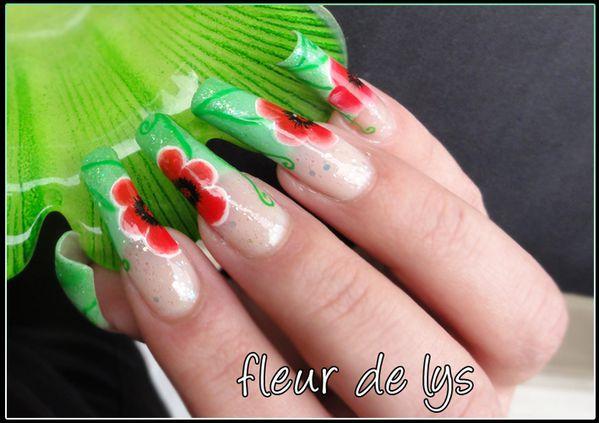 Nail Art printemps 3