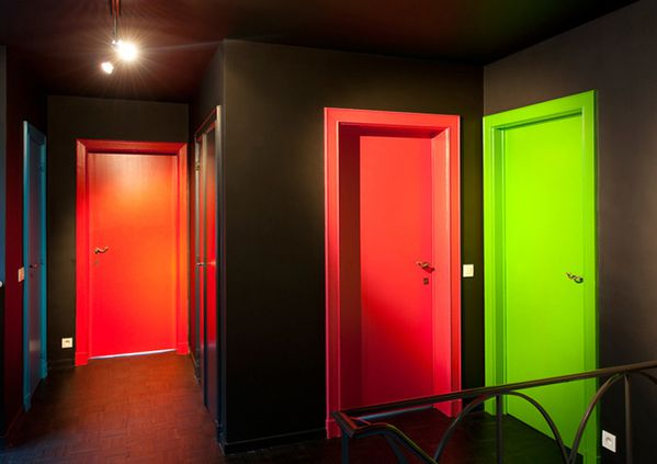 DESIRE TO INSPIRE COLORED DOORS