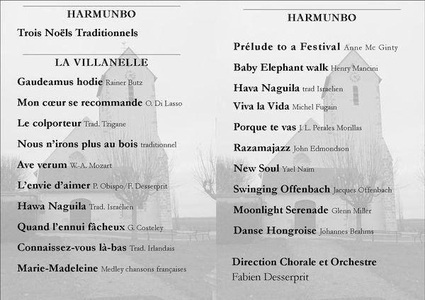Programme 16 12 2011