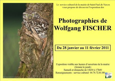 exposition ornithologie St Paul de Varces