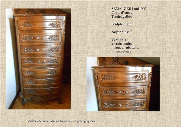 Notre fabrication provencale copie d 39 ancien a vendre for Copie meuble ancien