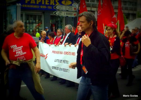 Pas question de fêter le 1er mai 2013 à Bruxelles