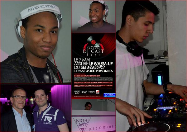 ORLEANS DJ CAST CLODELLE NIGHT WAY