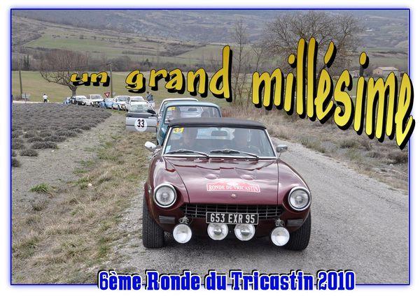 Tricastin 2010 Un grand millesime