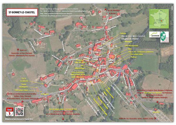 plan du bourg mai 2014image