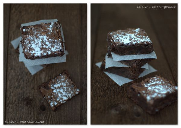 brownie 2 chocolats et ail