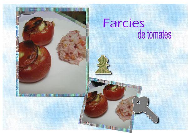 farcies de tomates