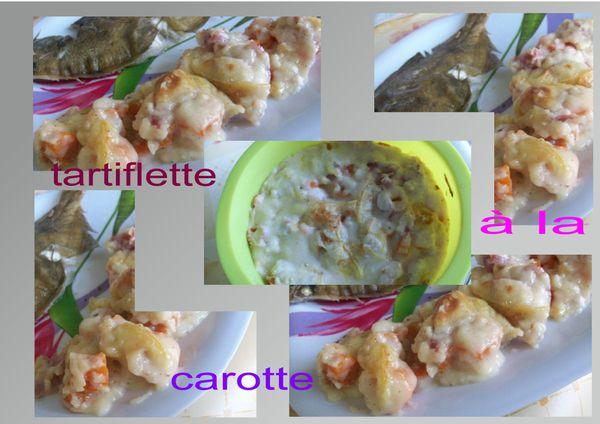 tartiflette à la carotte