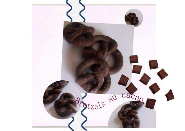 bretzels au cacao