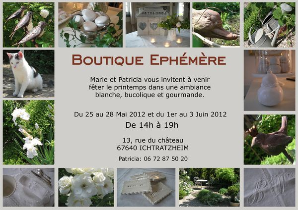 invitation printemps 2012