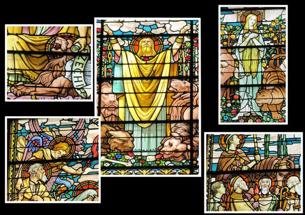 vitraux basilique lyon