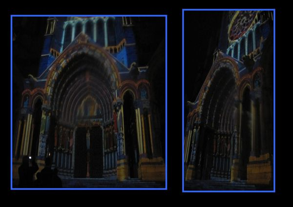 chartres lumiere 2011 nord