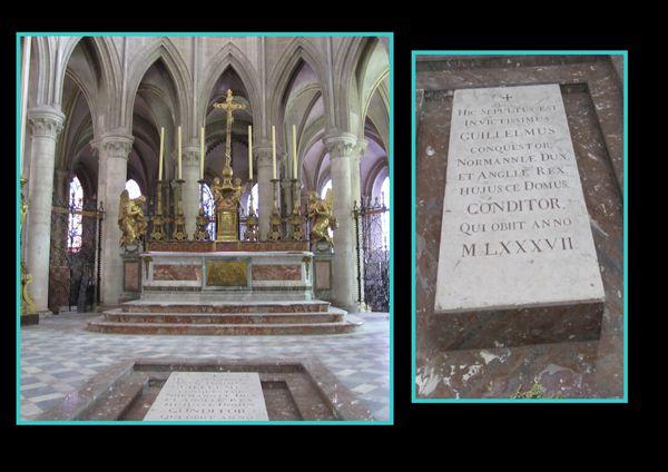 abbaye des hommes tombeau
