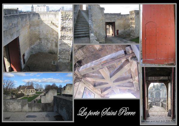 caen chateau porte st pierre