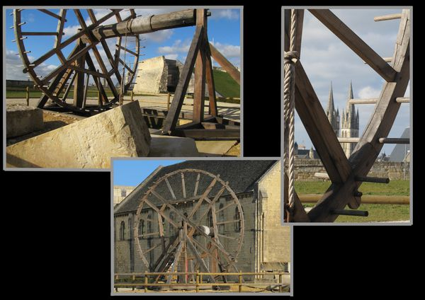 caen chateau treuil carriers