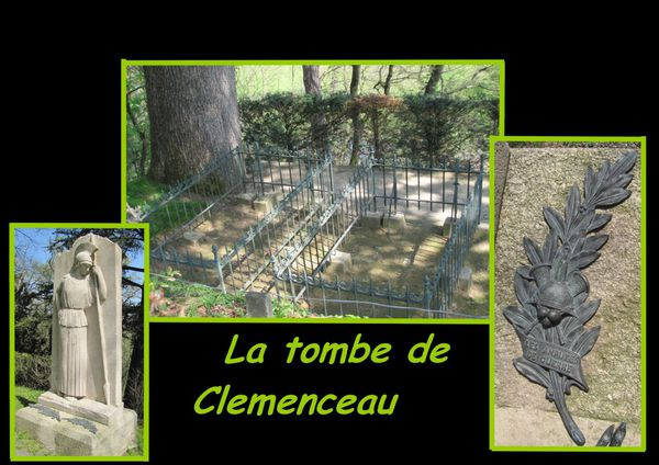 clemenceau tombe