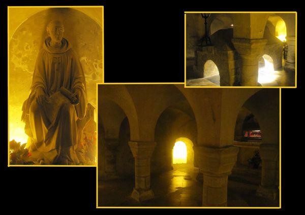 noirmoutiers eglise crypte