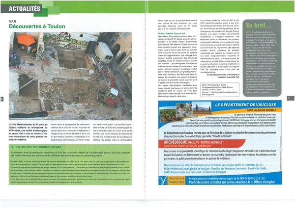 archéologia sept 2012