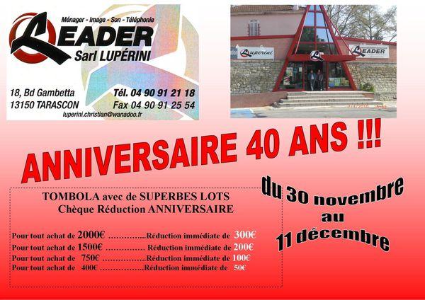 LEADER 40 ANS