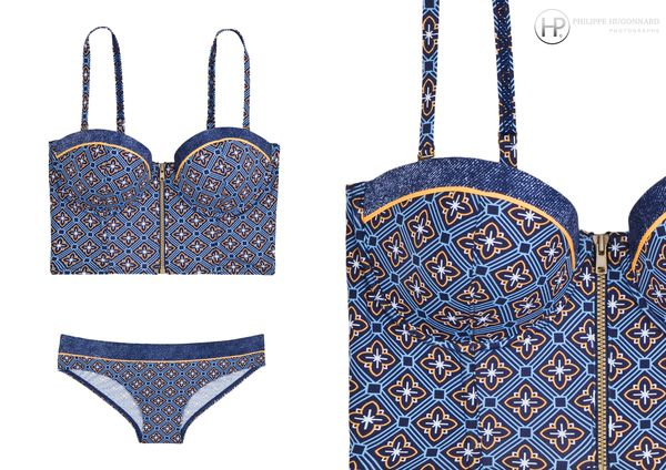 Collection 2012 Maillot de bain 2 pieces by C et A
