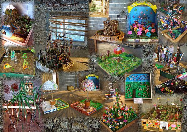 les jardins d'artistes en herbe
