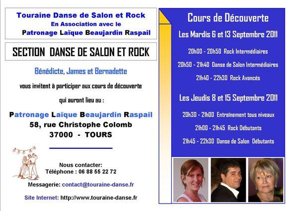 COURS DECOUVERTE TOURAINE DANSE 2011-2012