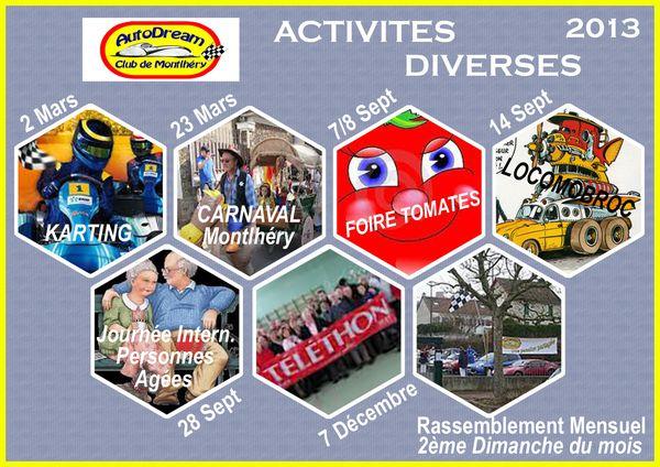 2 ACTIVITES DIVERSES