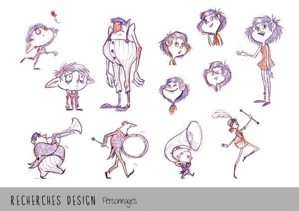 designs persos copie