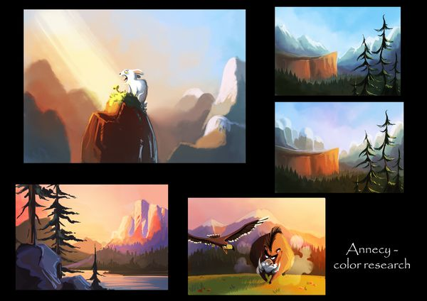 33 annecy color research